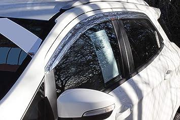 Autoclover Windabweiser Set Chrom Für Ford Ecosport 4 Teilig Auto