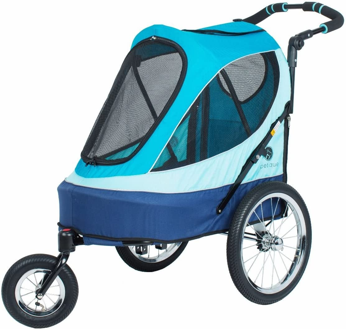 Petique All Terrain Jogger-Blazin Berry Pet Stroller