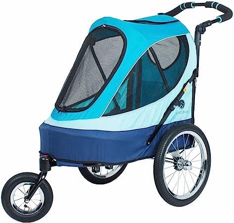 Petique All Terrain Jogger-Blazin' Berry Pet Stroller