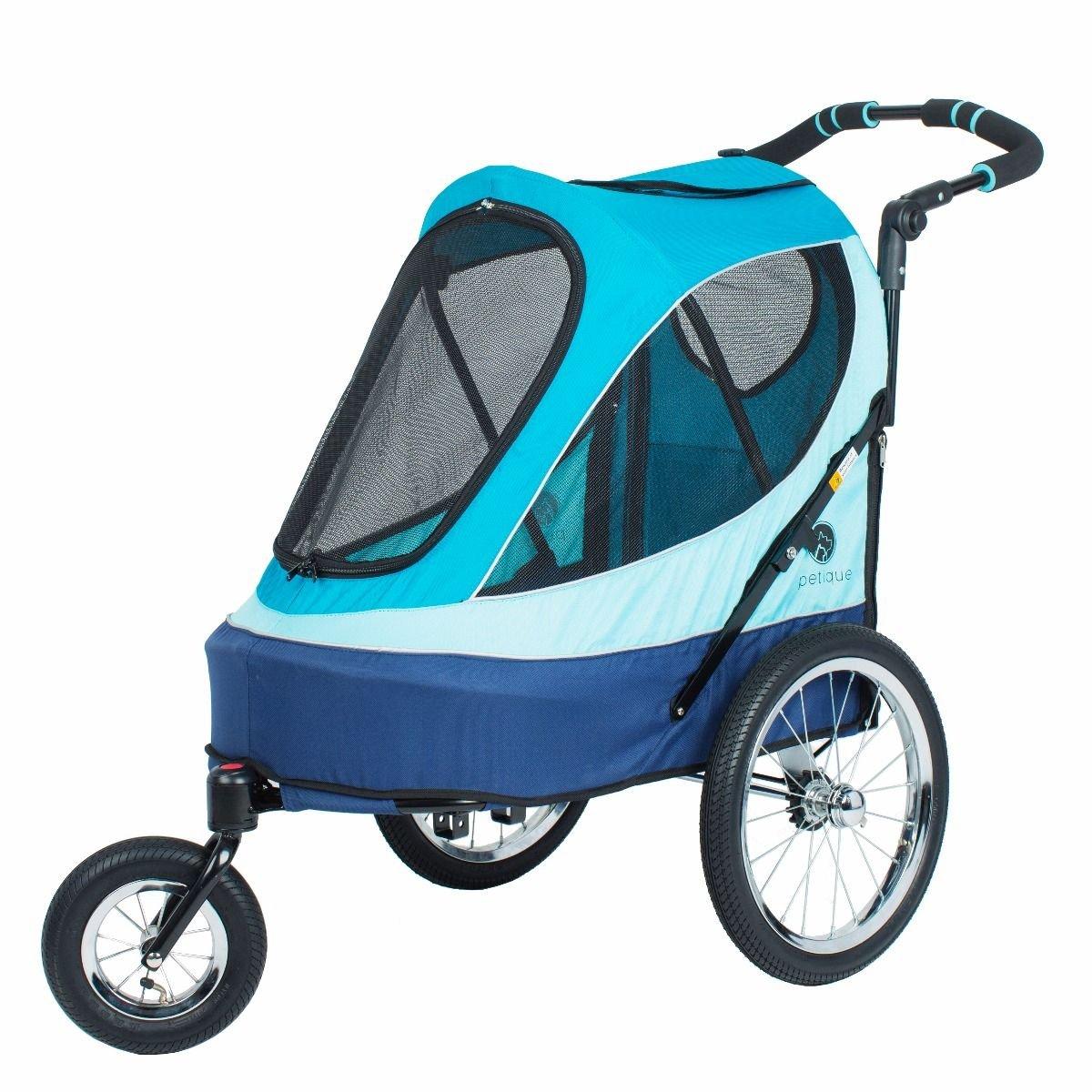PETIQUE All Terrain Jogger-Sailboat Pet Stroller, Sailboat, One Size by PETIQUE
