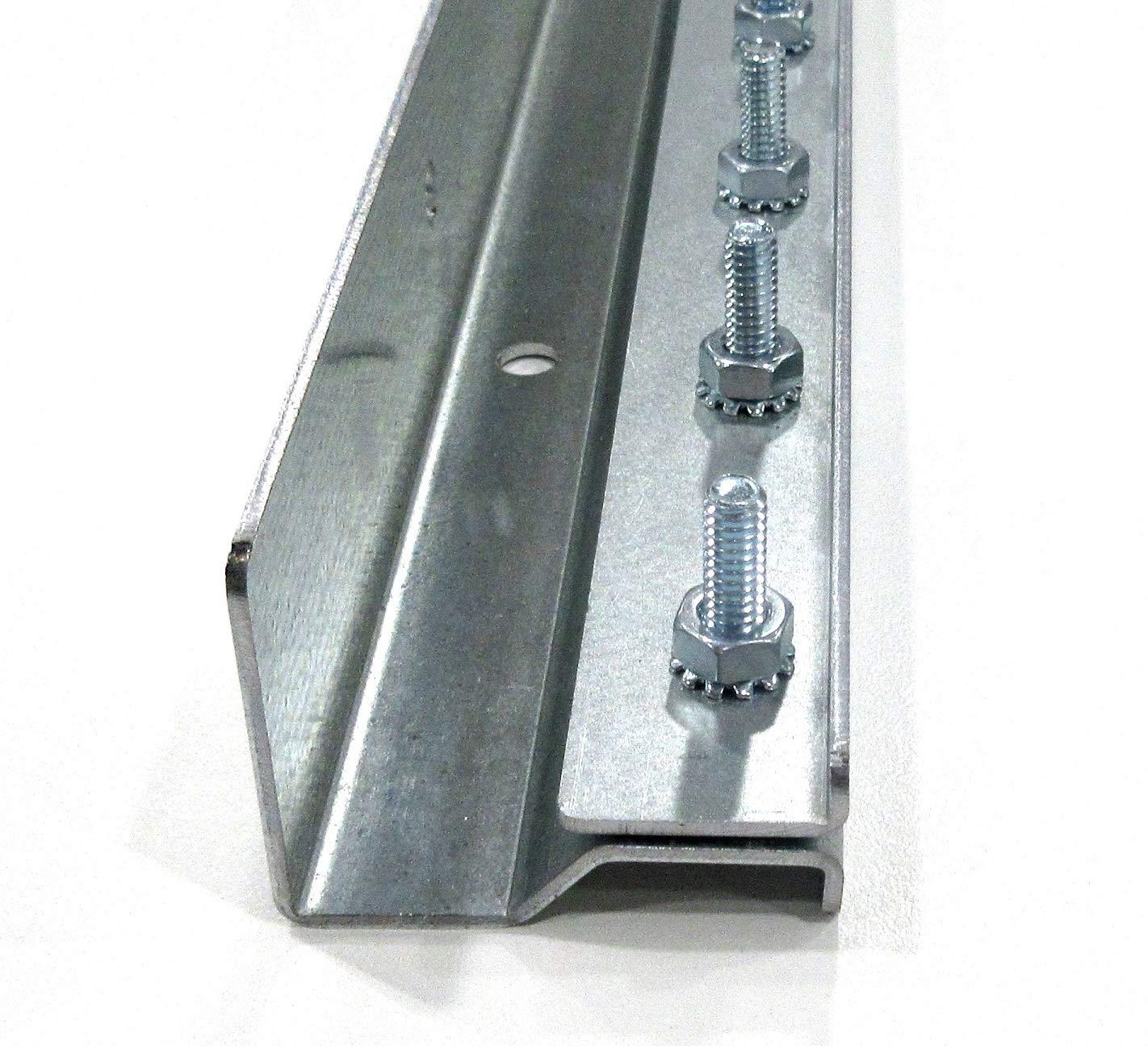 Strip Curtain Hardware 3 Foot Section Universal Mount Hanger