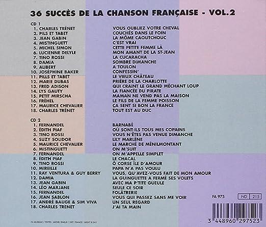 36 Succes De La Chanson V A 30 Succes De La Chanson Fr Amazonde