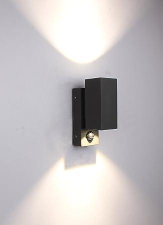 Beliebt kleine 6w LED Aussenleuchte mit Bewegungsmelder eckig: Amazon.de ZO63