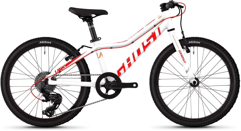 Star Weiß Neon rot Juice Orange 20 Zoll Ghost Lanao R1.0 AL W 20R Mädchen Mountain Bike 2019