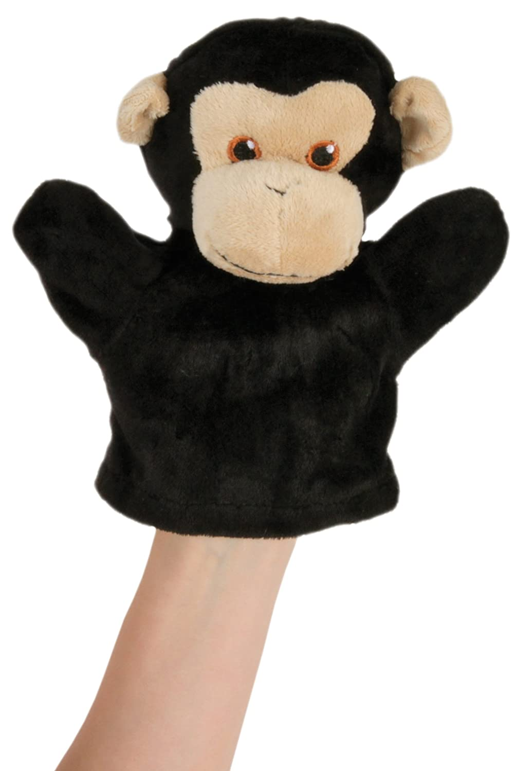 My First Puppet Chimp Hand Puppet The Puppet Company