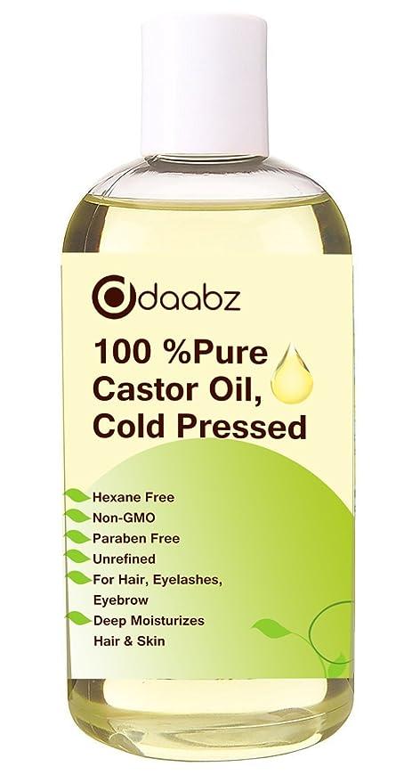 daabz 100% puro aceite de ricino. hexano libre, prensado en frío, non