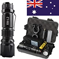 10000Lm Shadowhawk X800 CREE LED Flashlight Military Rechargeable KLARUS Torch
