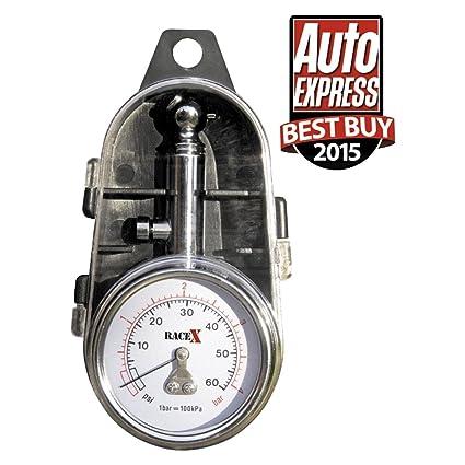 ca9b7ea5dea RACE X RX0014 Tyre Pressure Gauge  Amazon.co.uk  Car   Motorbike
