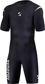 Amazon.com: Synergy Triathlon - Bañador de manga corta para ...