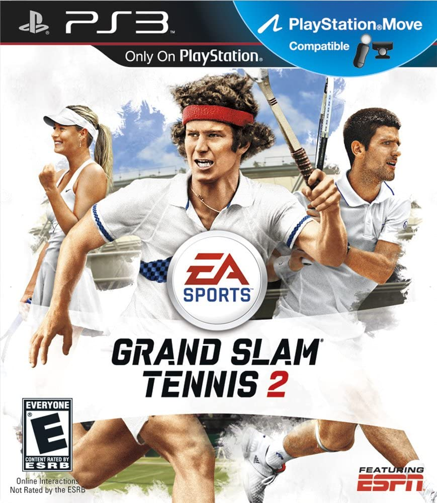 Amazon.com  Grand Slam Tennis 2 - Playstation 3  Video Games da2606e8fc2a7