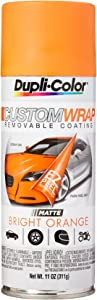 Dupli-Color ECWRC8067 Custom Wrap Matte Bright Orange