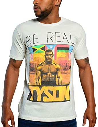 f481d43f Roots of Fight Officially Licensed Men's Tyson 'Be Real' Portrait Tee, ...