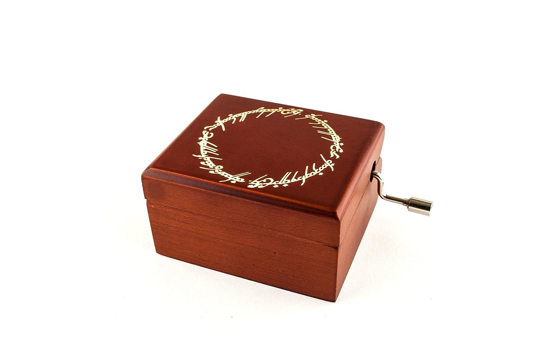 Caja musical grabada con la inscripción del Anillo Único - El ...