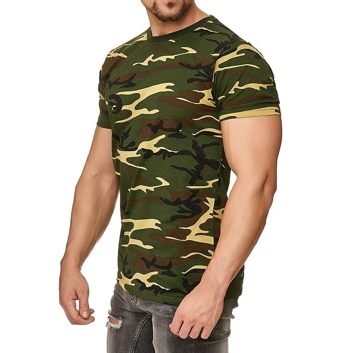 Camiseta de camuflaje militar 8b33e38df13