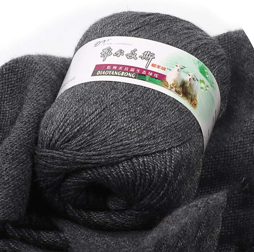 Suitble for Hand-Woven 6 Shares Cashmere Line Hand-Knitted in Baby Wool Scarf Line Fine Wool 50g 12-13 Needle