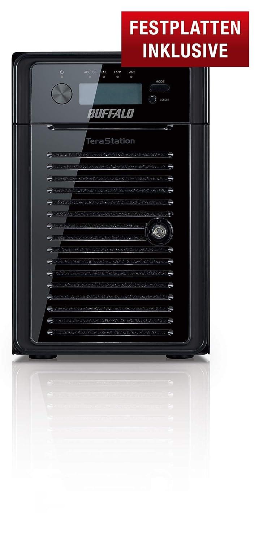 Buffalo TeraStation WSH5610DN Ethernet Escritorio Negro NAS - Unidad Raid (48 TB, Unidad de Disco Duro, Unidad de Disco Duro, Serial ATA II, 8000 GB, 3.5