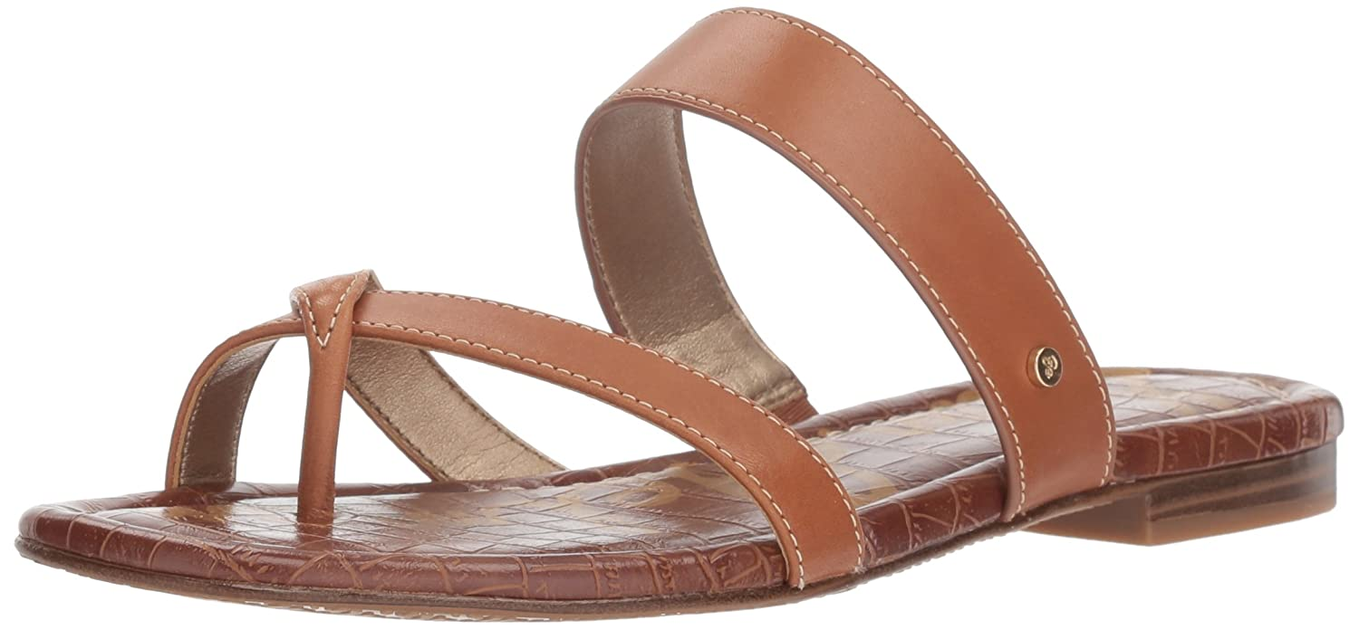 Sam Edelman Women's Bernice Slide Sandal B078HFL9NJ 6 B(M) US|Saddle Leather
