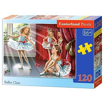 """Castorland """"Ballet Class Puzzle (120 Piece): Toys & Games"""