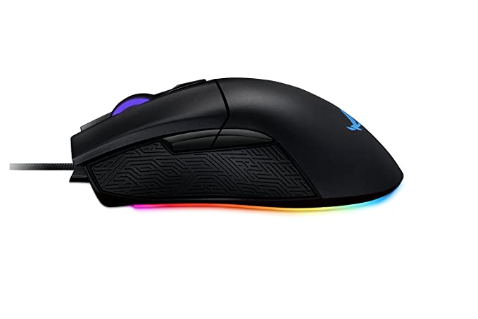 bdfb3336def ASUS ROG Gladius II Origin ergonomic optical gaming mouse optimized for FPS  with AURA Sync: Amazon.co.uk: Computers & Accessories