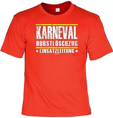 T Shirt   Karneval Durst Löschzug   Einsatzleitung   Lustiges Karneval  Sprüche Shirt Ideal Als