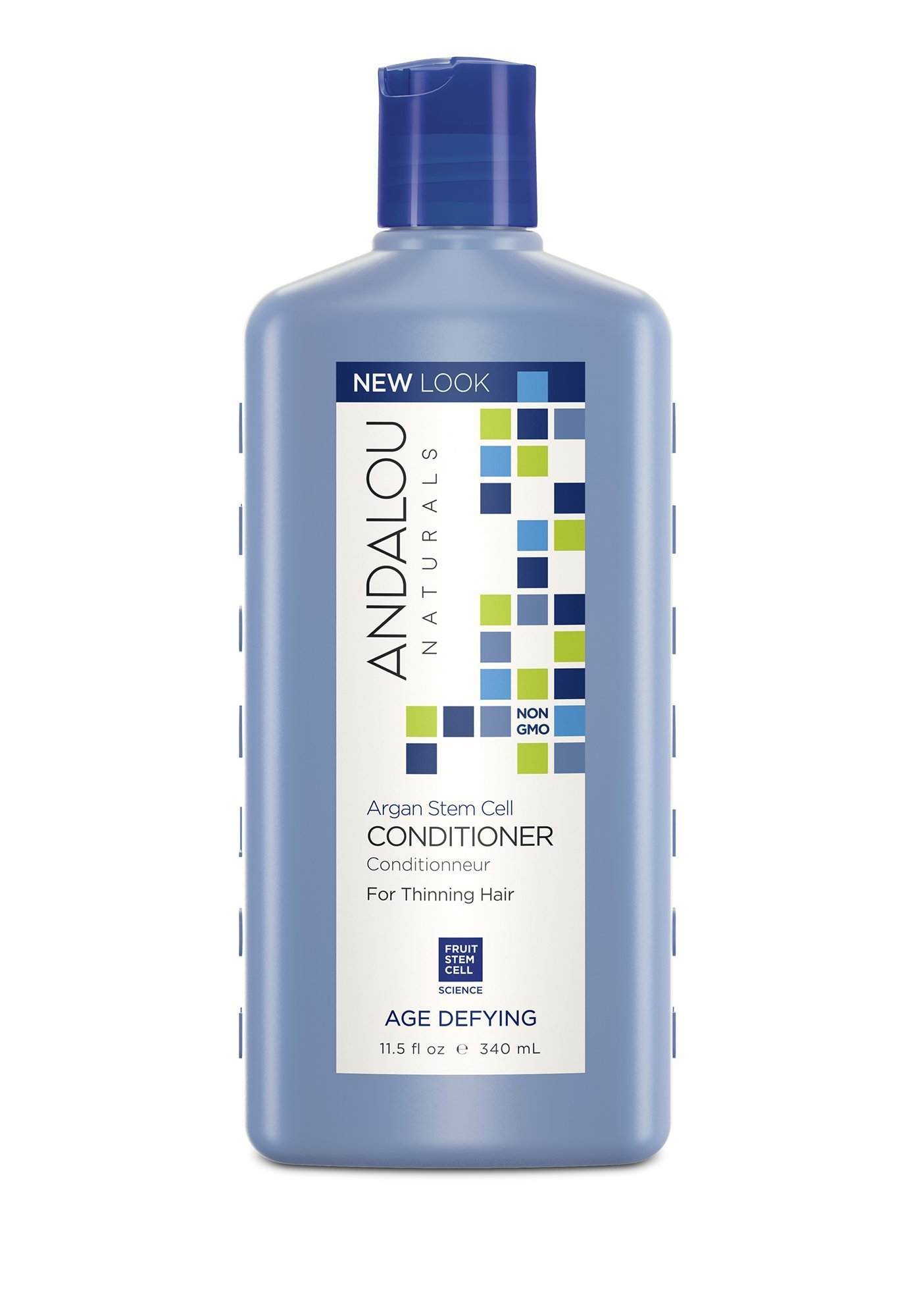 Andalou Naturals Argan Stem Cell Age Defying Shampoo Clear Complete Soft Care Men 340 Ml Conditioner 115 Ounce Thinning Hair Helps
