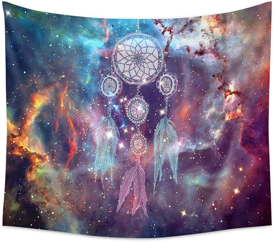 PHNAM Bohemian Tapestry Wall Hanging Dream Catcher Colorful Mandala Bedding Beach Tapestries Inches Extra Large for Bedroom Dorm Living Room Wall Art Decor Home
