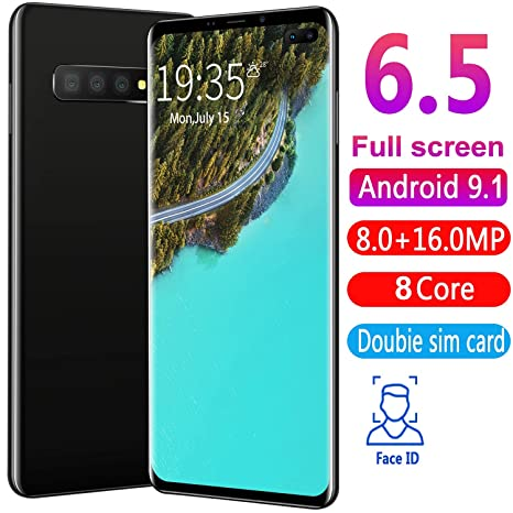 L-PH Smartphone Desbloqueado 8 Core Android 9.1 Tarjeta SIM ...