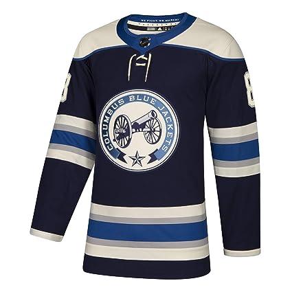 59744dca6 adidas Columbus Blue Jackets Zach Werenski Authentic Alternate Pro Jersey ( 50 M)