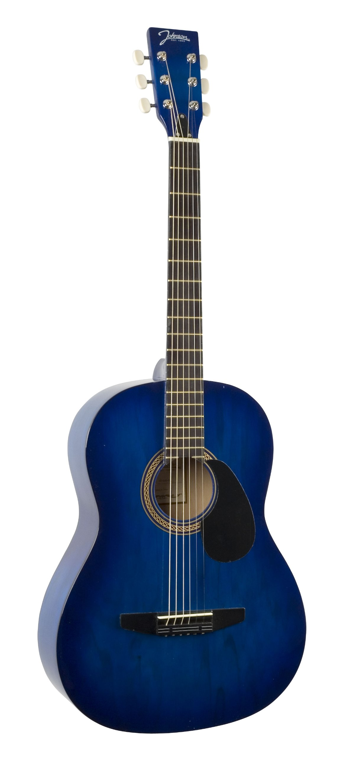 Johnson JG-100-BL Student Acoustic Guitar, Blueburst