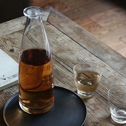 handblown enfriar agua de gran capacidad de plomo-botella de vidrio libre bebidas fría jarra