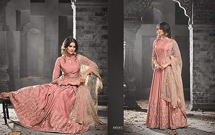 081afdf0366d Image Unavailable. Image not available for. Color: Silk Designer Pakistani  Bridal Wedding Long Royal Anarkali Salwar Kameez Heavy ...