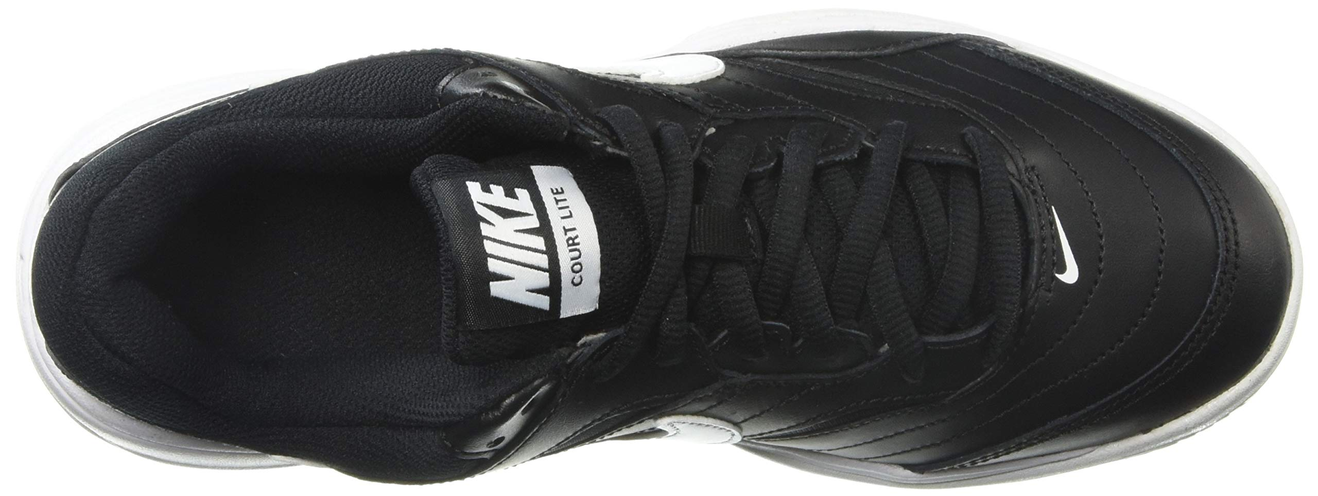 NIKE Men's Court Lite Athletic Shoe, Black/White/Medium Grey, 7.5 Regular US by Nike (Image #8)