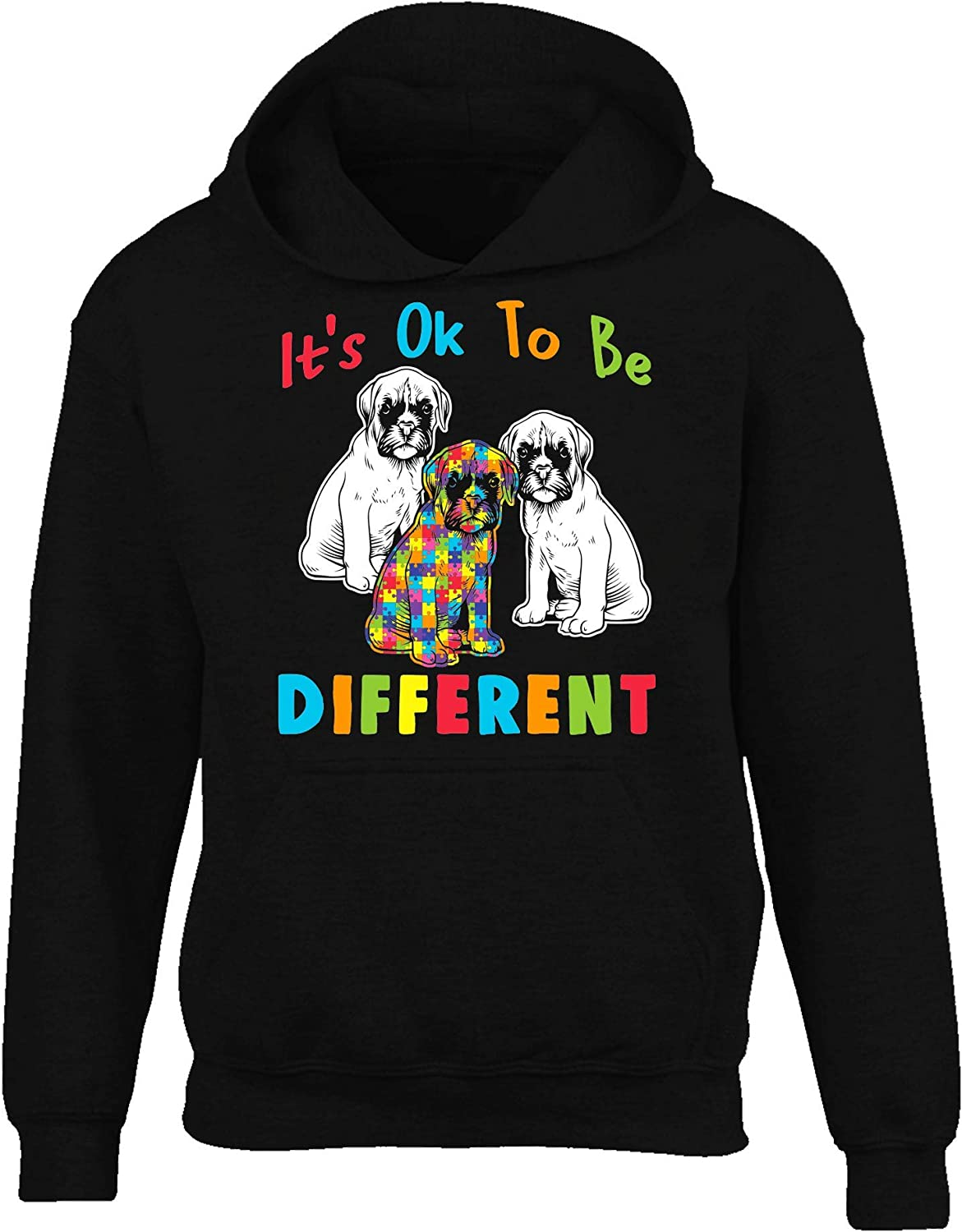 SMLBOO Autism Awareness Its Ok to Be Different Boxer
