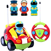 Liberty Imports Cartoon R/C Race Car Radio Control Toy for Toddlers (English Packaging)