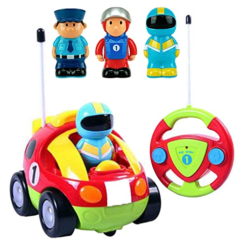 Liberty Imports Cartoon R C Race Car Radio Control Toy For Toddlers English Packaging