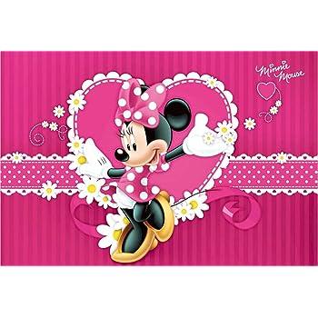 Amazon photo background pink minnie mouse birthday backdrop photo background pink minnie mouse birthday backdrop for princess girls 7x5ft hot pink stripes white flowers mightylinksfo