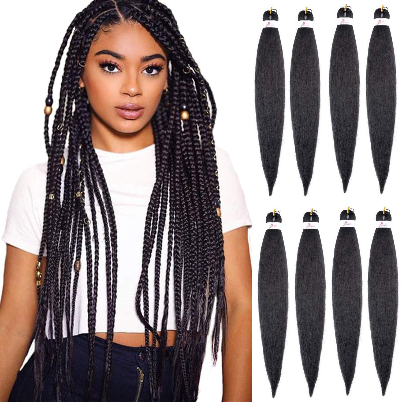 Incredible Amazon Com 26 8 Packs Braiding Hair Pre Stretched Easy Braid Schematic Wiring Diagrams Amerangerunnerswayorg
