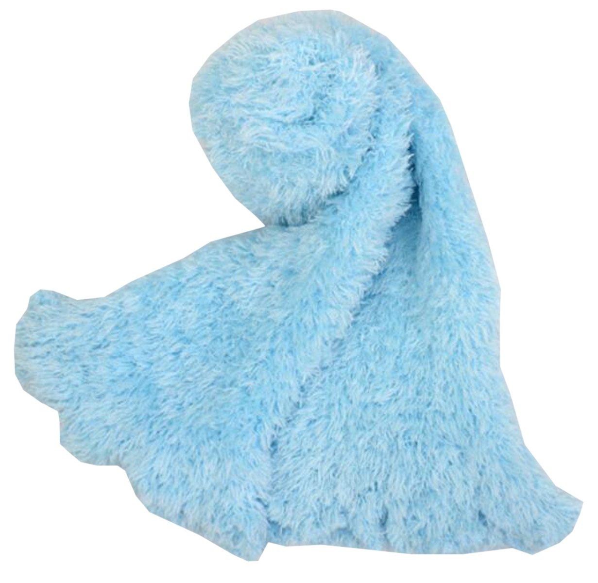 Xinliya Magic Stretch Scarf Hood Wrap Multiple Style Shawl Neck Warmer Cardigan , Light Blue