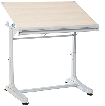Stand Up Desk Store Height Adjustable Drawing and Drafting Table