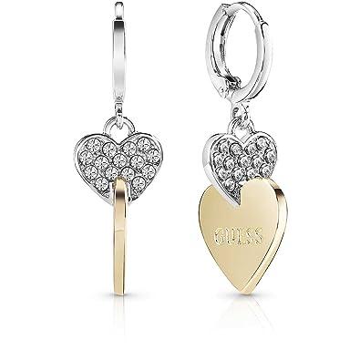 ea3961c77 Women's Earrings Guess ME and YOU Hearts UBE84116: Amazon.co.uk: Jewellery