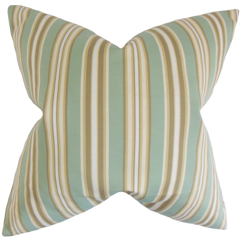 The Pillow Collection Freja Outdoor Bedding Sham Beach Standard//20 x 26