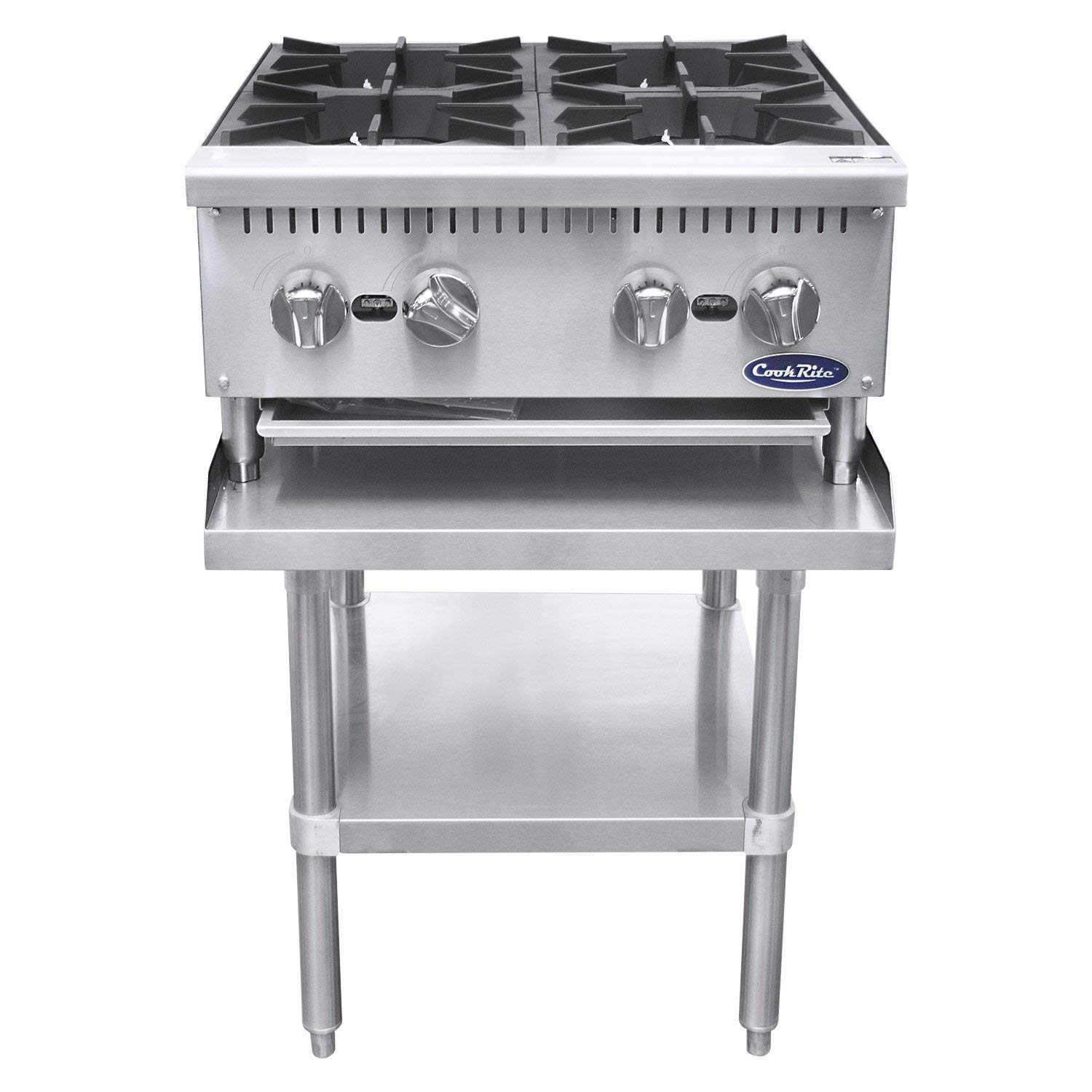 Amazon.com: CookRite Cuatro Quemador Hot Plate Comercial ...