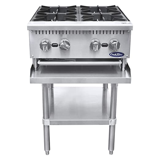 Amazon.com: CookRite Cuatro Quemador Hot Plate Comercial ...
