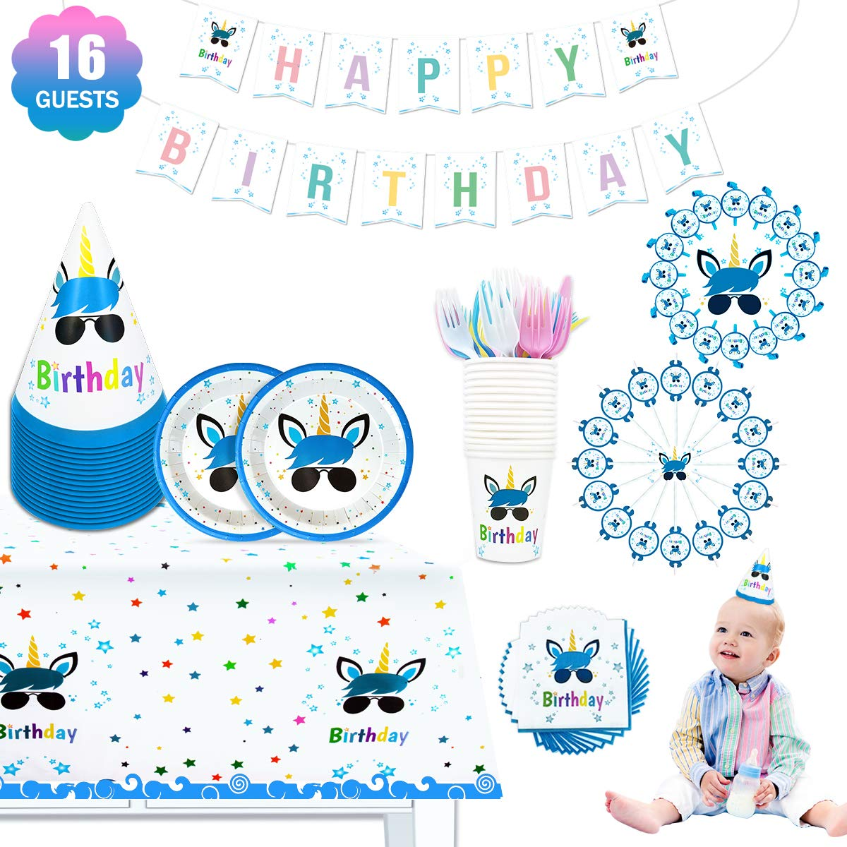 Unicorn Party Bundles for 16 Guests Page Three
