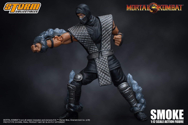 Storm Collectibles Mortal Kombat: Smoke NYCC Exclusive Action Figure