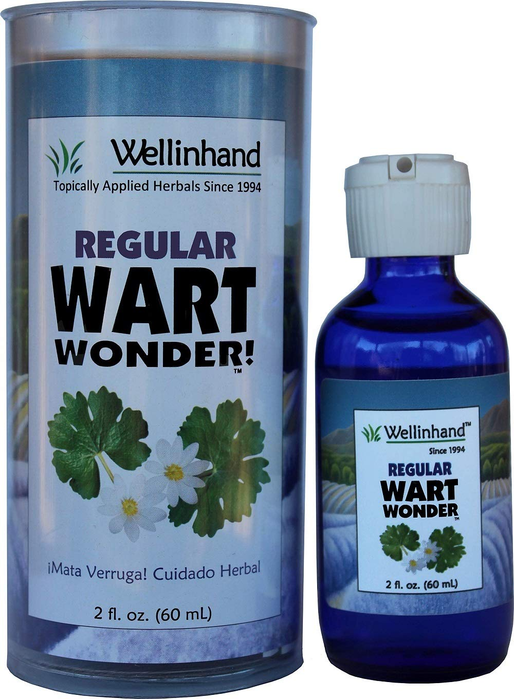 Wellinhand Action Remedies Wart Wonder, Regular Strength, 2 Ounce by Wellinhand Action Remedies
