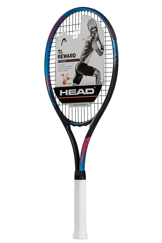 HEAD Ti. Reward Tennis Racket - Pre-Strung Light Balance 27 Inch Racquet