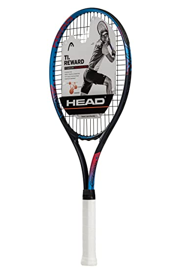 HEAD Ti. Reward Tennis Racket - Pre-Strung Light Balance 27 Inch Racquet