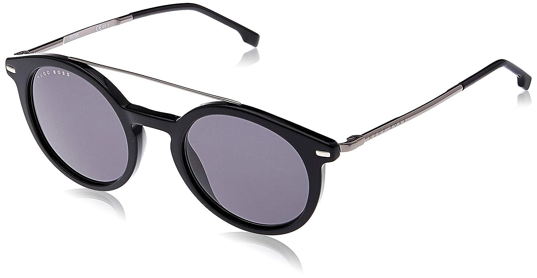 Hugo Boss Boss 0929/S IR 807 49 Gafas de sol, Negro (Black Grey), Hombre