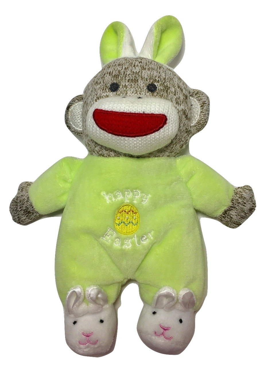Baby Starters Plush Monkey Happy Easter   B01CRB7KYS